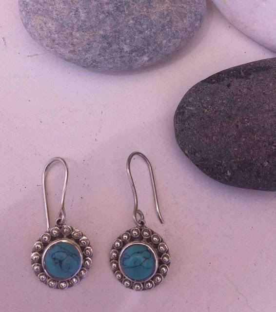 Kum kum earrings