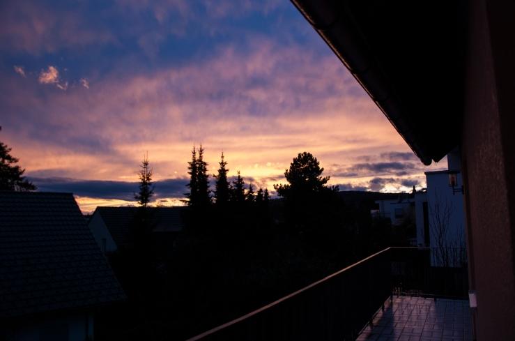 Solnedgång Kronberg